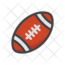 Rugby Hand Ball Sports Icon