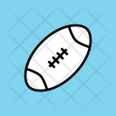 Rugby Football Ball Icon
