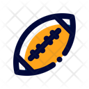 American Football Sport Game Icon