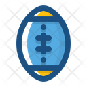 Rugby Ball Football College Football Icon