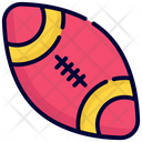 Rugby Ball American Football Ball Icon