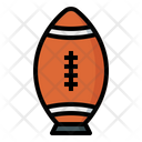 Rugby Ball Ball Placekick Icon