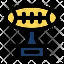 Football Trophy Award Premium Icon