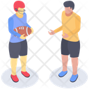 Rugby Game Player Olympic Game American Football Player Icon