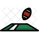 Rugby Goal Ball Game Icon
