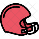 Rugby Helmet Sports Icon
