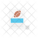 Rugby Match Document Icon