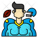 America Avatar Football Icon