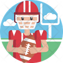 Sports American Football Rugby Icon