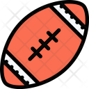Rugby Sports Equipment Icon