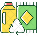 Rug Recycle Material Icon