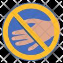 Rule Cancel Handshake Icon