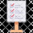 Rule Board Signboard Office Rules Icon
