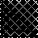 Ruler Mathematics Geometry Icon