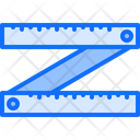 Ruler Hinges Tool Icon