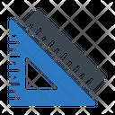 Ruler Protractor Geometry Icon