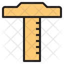 Ruler T Square Design Tool Icon