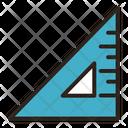Ruler Set Square Angle Icon