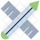 Ruler Stationery Tool Pencil Icon