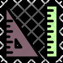 Ruler Size Design Icon
