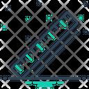 Ruler Yardage Stationery Icon