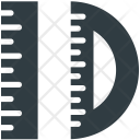 Ruler And Degree Icon