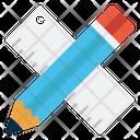 Ruler Pencil Edit Icon