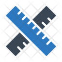 Ruler Scale Geometry Icon