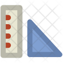 Ruler Measuring Tools Icon
