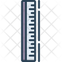 Ruler Yardage Measurement Icon