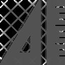 Design Ruler Architecture Icon