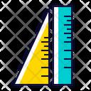 Ruler Stationery School Icon