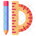 Ruler Scale Measure Icon