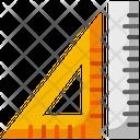 Ruler School Materials Icon