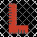 Construction Job Ruler Icon