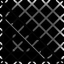 Ruler Web App Measure Icon