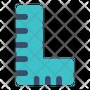 Ruler Angle Tool Icon