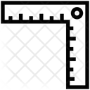 Construction Ruler Measurement Icon