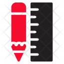 Ruler Drawing Design Icon