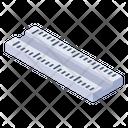 Ruler Measurement Ruler Geometrical Tool Icon