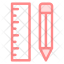 Ruler Rulers Pencil Icon