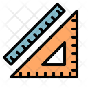 Ruler Measure Setsquare Icon