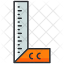Ruler Scale Icon