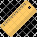Ruler Stationery Item Icon
