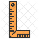 Ruler Construction Tool Icon