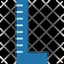 Ruler Geometry Measure Icon