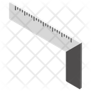 Ruler Scale Stationery Icon