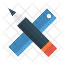 Ruler Pencil Edit Icon