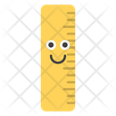 Ruler Smiley Icon
