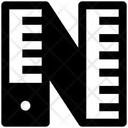 Ruler Tape Icon